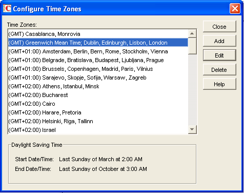 Novell Doc Groupwise 8 Administration Guide Time Zones