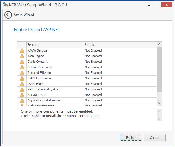 Configuring the Web Application - Novell File Reporter 2 6