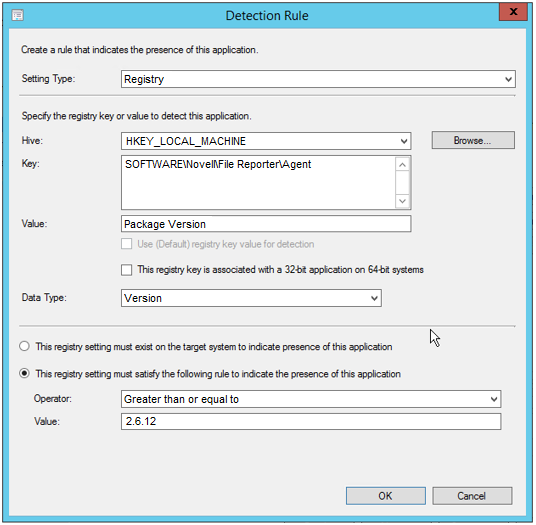 Creating an SCCM Application for Distribution - Novell File