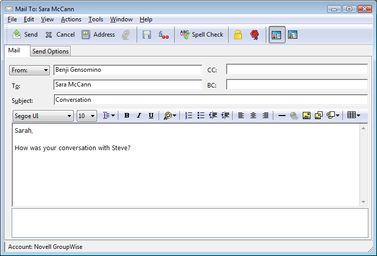 Novell Doc: GroupWise 2012 Windows Client User Guide ...