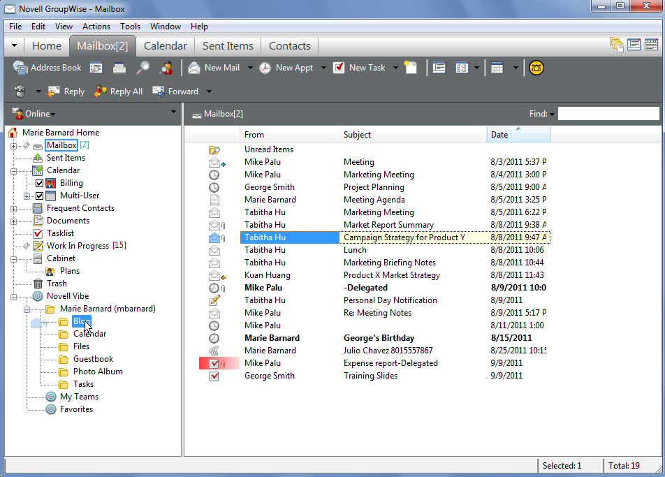 GroupWise 2012 and Vibe 3.2