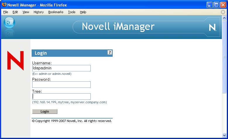 Novell imanager manual