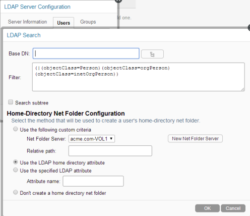 Synchronizing Users and Groups from an LDAP Directory - Novell Filr