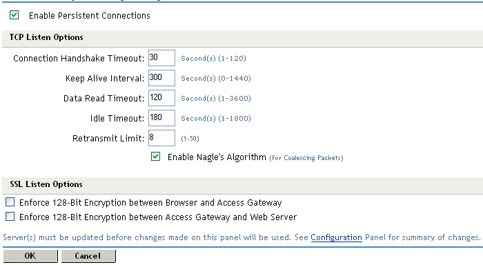 Novell Doc: Novell Access Manager 3 0 SP4 Administration Guide
