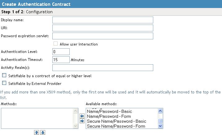Novell Doc: Novell Access Manager 3 1 SP2 Identity Server