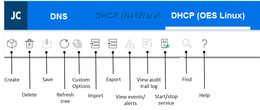 Novell DHCP Service - OES 2018 SP1: DNS/DHCP Services for Linux