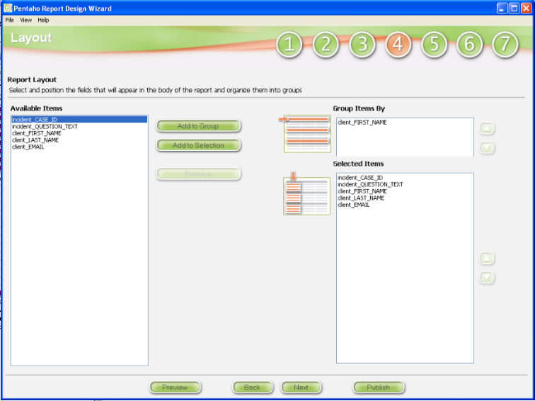 how to create report in pentaho report designer