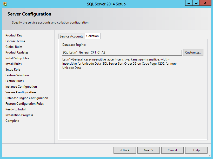 Install a New Instance of SQL Server - Micro Focus Storage Manager 5.0 for  Active Directory Installation Guide