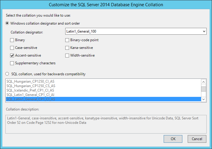 Install a New Instance of SQL Server - Micro Focus Storage Manager