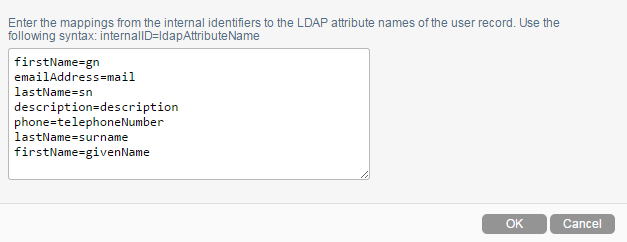 Synchronizing Users and Groups from an LDAP Directory