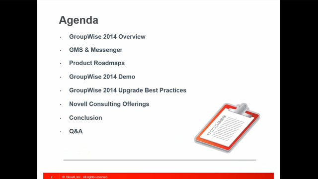 GroupWise 2014—Email for the Modern World