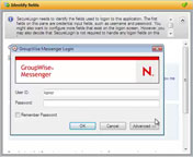 Linking Credentials: GroupWise Instant Messenger