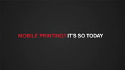 Printing's Not Dead!