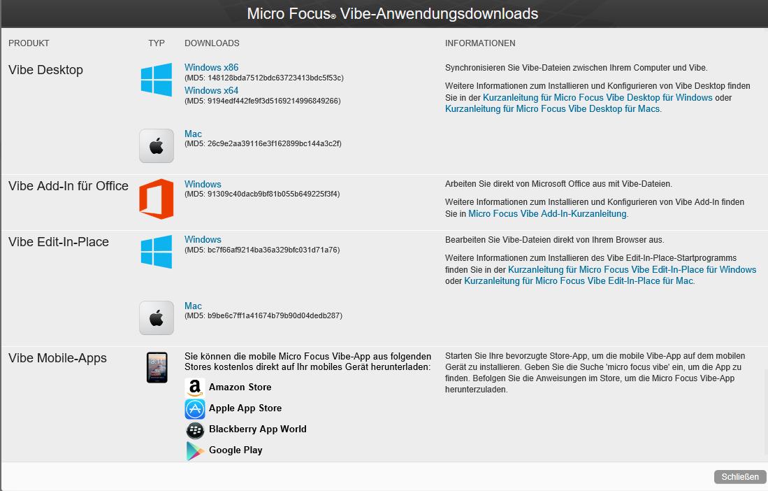 Micro Focus Vibe 4 0 5-Versionshinweise