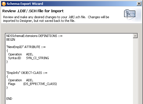 Novell Doc: Designer 2 1 for Identity Manager 3 5 1 - Importing the