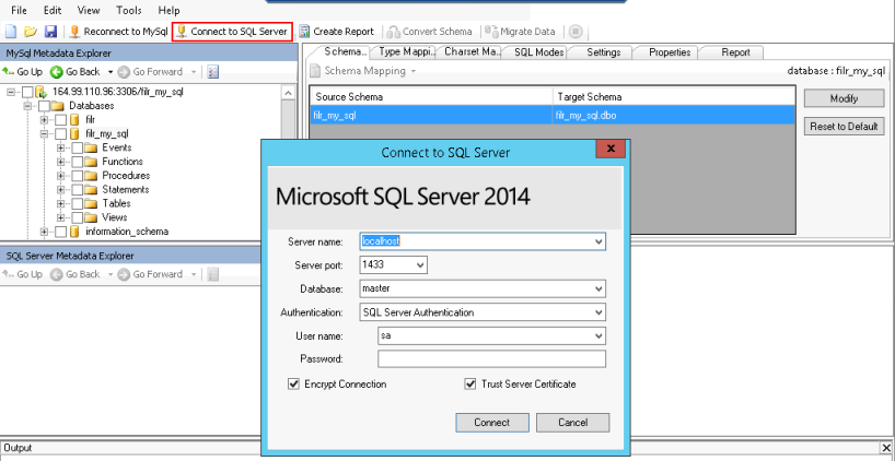 Connecting To The Microsoft SQL Server Filr Maintenance Best - Data mapping best practices