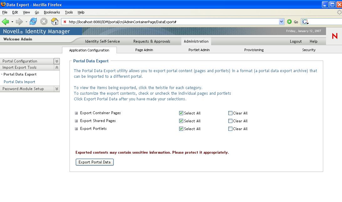 Novell Doc: Identity Manager Roles Based Provisioning Module