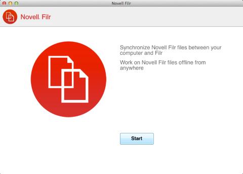 novell filr mac