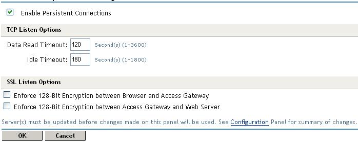 Novell Doc: Novell Access Manager 3 1 SP1 Access Gateway