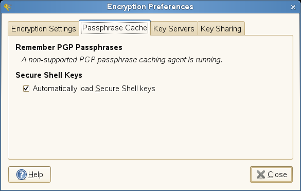 Novell Doc: openSUSE 10 3 GNOME User Guide - Encryption