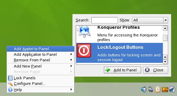 Novell Doc: KDE Quick Start - Customizing Your Desktop