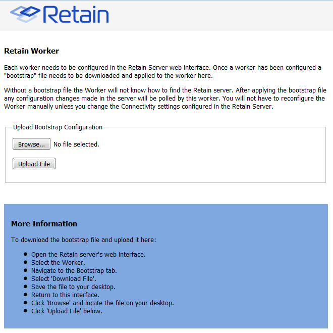 Workers - Retain Unified Archiving