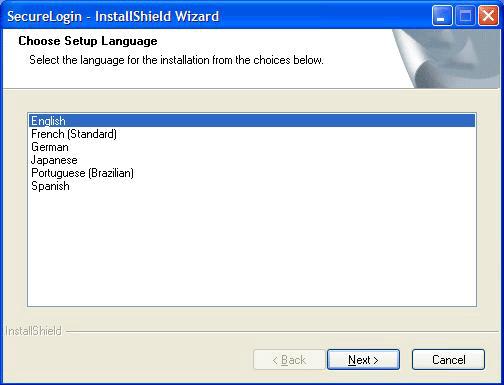 Installshield parameter