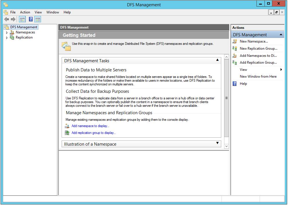 Creating DFS Namespace Permissions - Micro Focus Storage