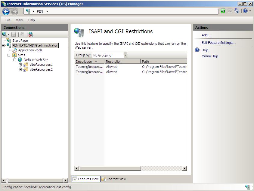 Novell Doc: Novell Vibe 3 3 Installation Guide - Configuring Single