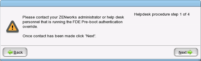 Click Helpdesk Make Sure That Deactivate Pre Boot Authentication Is Selected Then Next