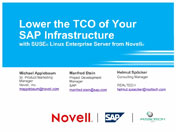Lower the TCO of Your SAP Infrastructure